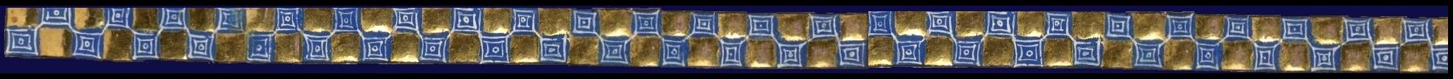 border blue on gold chequer Brit.Lib Add MS 42130 f80r long
