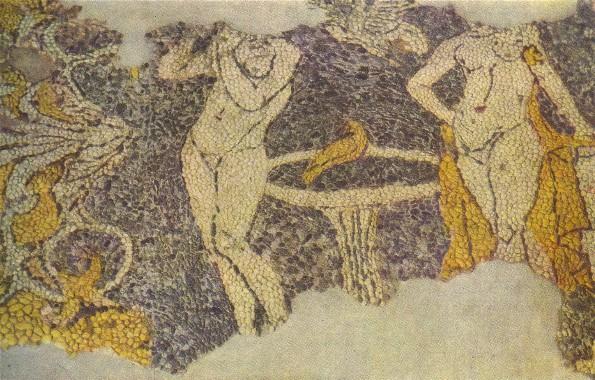 Chersonese Taurica: floor mosaic (3rd-2nd century BC) Encyc. of Ukraine