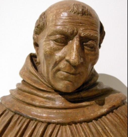 Albert of Lauingen magus magnus modern wood carving