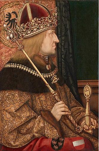 Frederick III, Rudolf's great-great-great grandfather