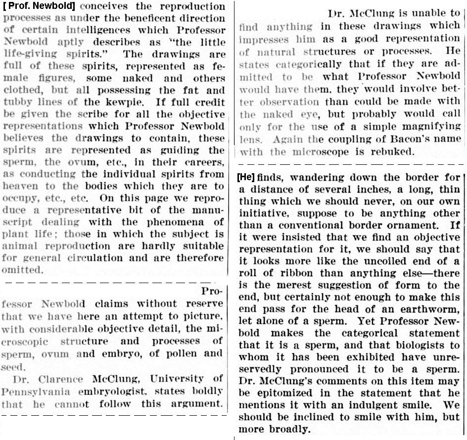 Newbold biol SciAm May 28 1921