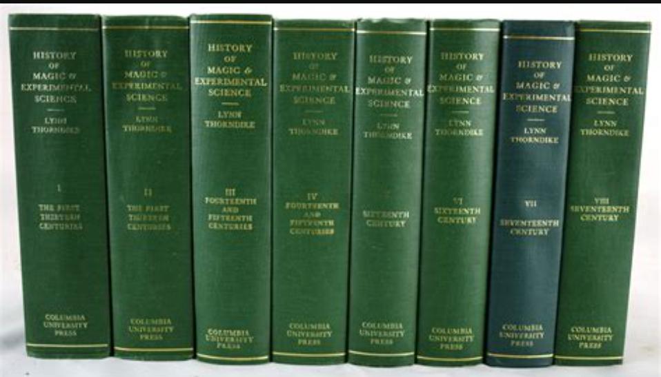 Thorndike volumes