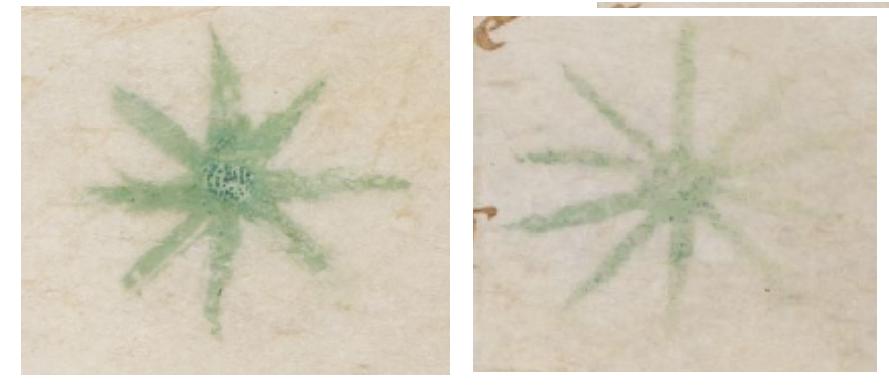 green stars alone from Brit Lib Add 17808