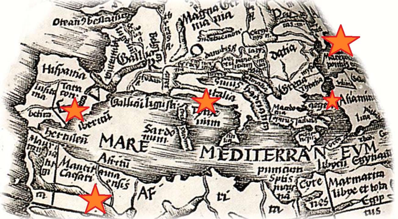 mediterranean-map transmission points