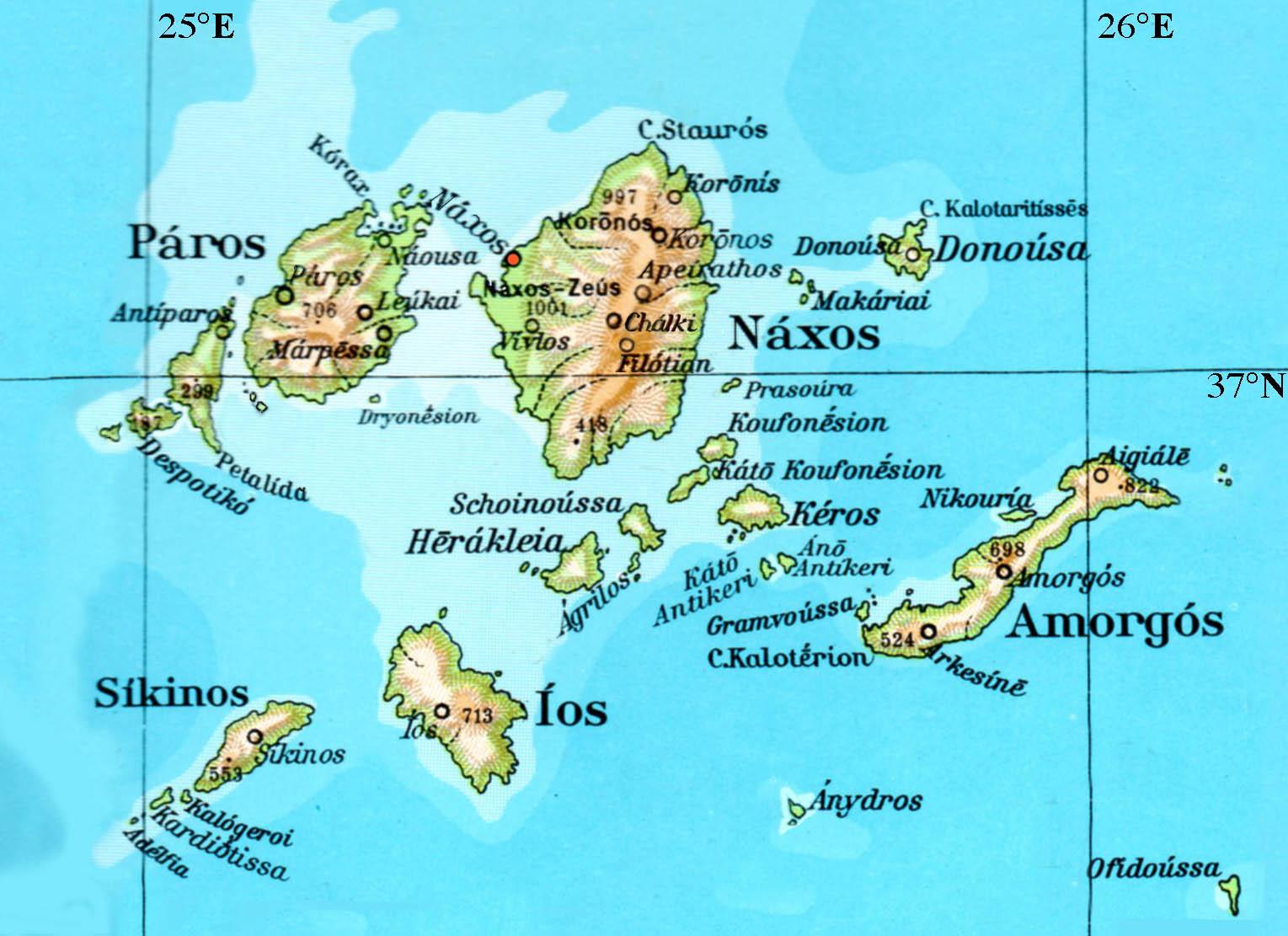 Nàxos and Despotikos